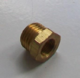 Brass Foundry - Thread Reducing Bushes 1/4 x 1/8 - 07000350